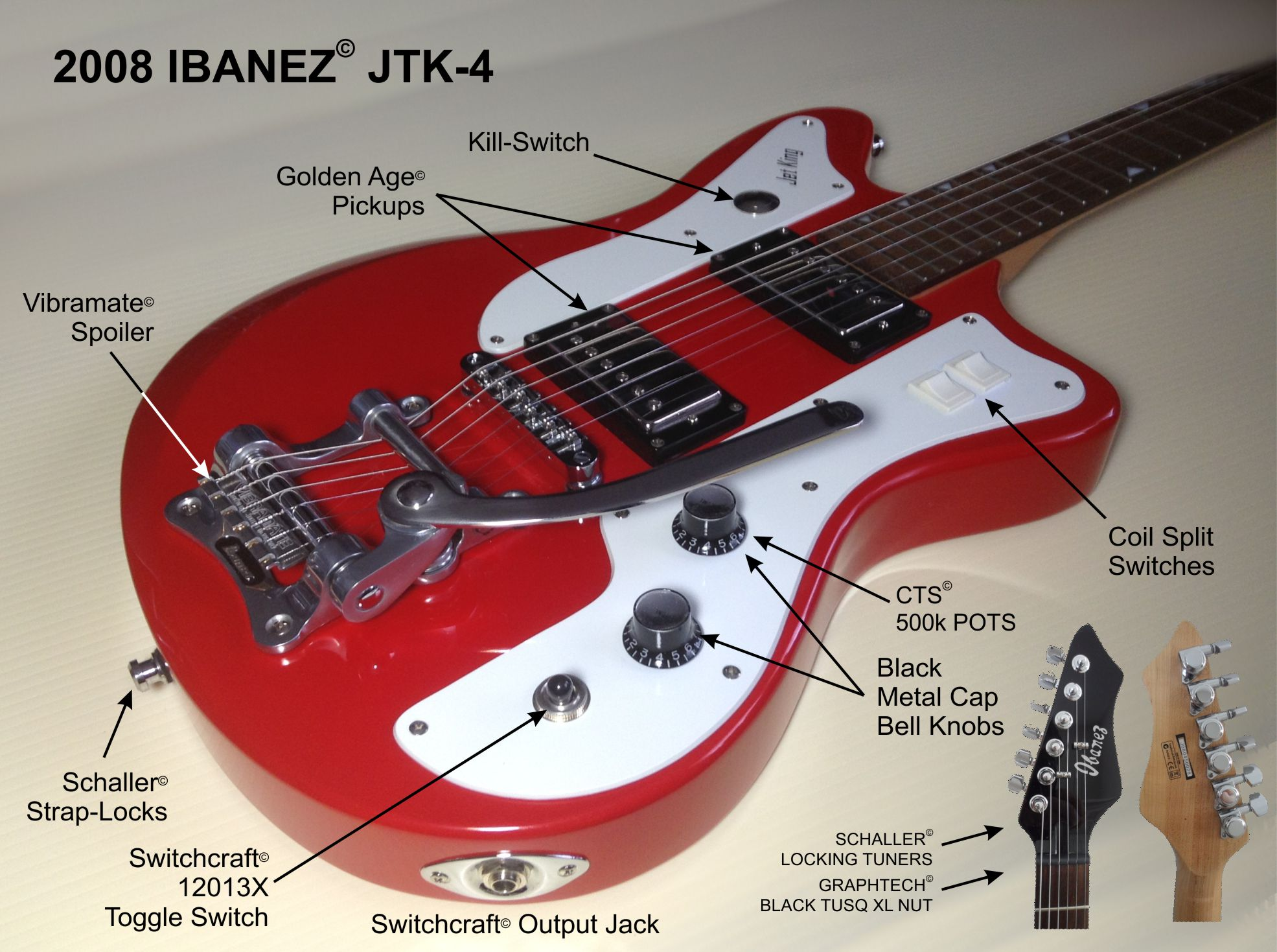 guitars rh stagecue com JTK Jeff The Killer JTK Reptiles