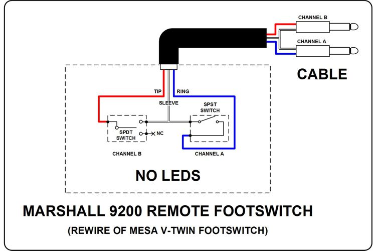 mesa v twin rack footswitch pedal the boogie board Peavey Footswitch Wiring