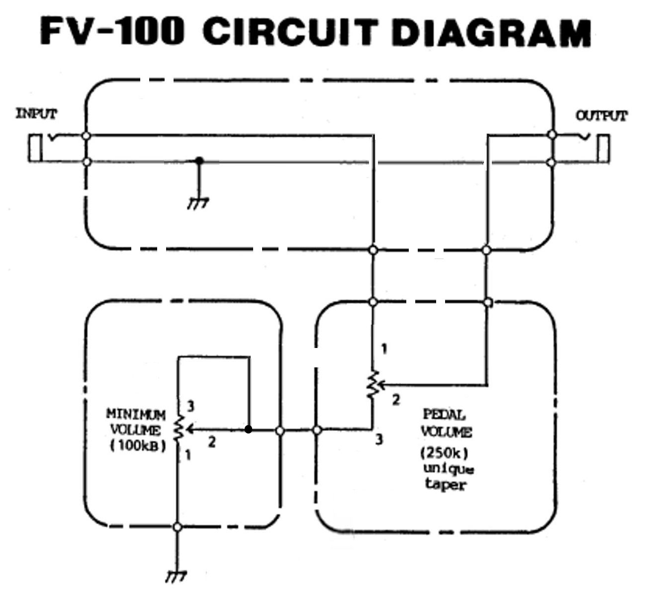 For Guitar Volume Pedal Wiring Diagram Electrical Diagrams Cort Dorable Effect Schematics And